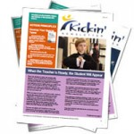 Kickin Newsletter: March - When the Teacher is Ready, the Student Will Appear