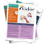 Kickin Newsletter: December - Santa is a Ninja!