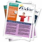 Kickin Newsletter: August - Martial Arts Will Develop Your Focus